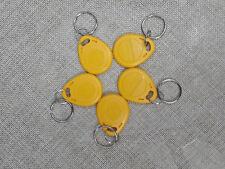5pcs 125Khz EM RFID ID card keytag Proximity Token Key Tag KEYS keyfobs Chain