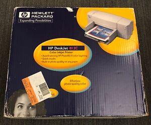 hewlett packard hp 812c color inkjet printer