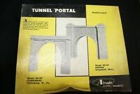 HO Alexander Models #DS-34 Hoosac Tunnel Portal, New, Cast Hydrocal, USED, C-6