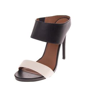 RRP€120 NASTY GAL Mule Sandals EU 37.5 UK 4.5 US 6.5 Two Tone Elasticated Insert