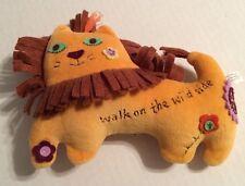 "Natural Life Lion Walk on the Wild Side Decorative Plush 7"""