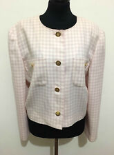 LUISA SPAGNOLI Women's Jacket Wool Scotland Wool Woman Jacket Blazer Sz. XL - 48