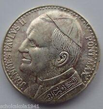 Medalla original 600 años de jasna gora Juan Pablo II.
