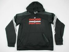 NEW adidas Chicago Bulls - Men's Black Sweatshirt (3XLT)