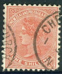 New Zealand. 1897. SSF. 1/-. U.