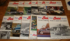 Original 1980 Buick Bugle Magazine Complete Year 12 Issue Set 80