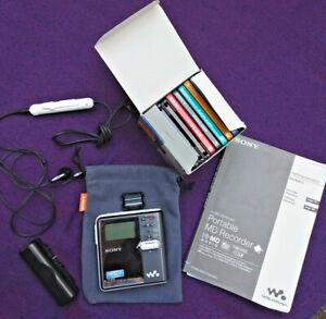 Sony Portable Hi-MD Walkman Recorder MZ-RH910