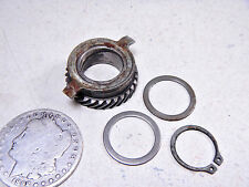 79 YAMAHA DT125 ENDURO SPEEDOMETER DRIVE GEAR WASHERS & CIRCLIP SNAP-RING