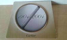 Usado - Catálogo de Relojes CARTIER - Centenario Modelo Santos 1904 - 2004