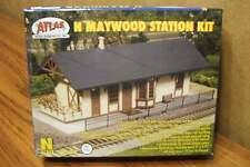 ATLAS N SCALE BUILDING KIT MAYWOOD STATION / Tan