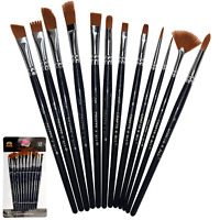 """"""" Paint Brushes For Acrylic Painting Sable Weasel Hair Artists Filbert Paint..."""