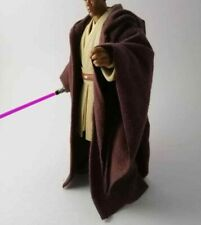 NO FIGURE Custom Brown Jedi Robe for Mace Windu Star Wars 6 inch Black Series