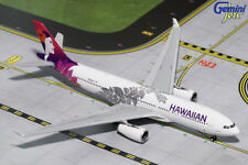 AVIATIONMODELSHOP Gemini Jets 1:200 Hawaiian Airlines Airbus A330-200 New Livery