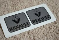 RENAULT Sport Motorsport Racing Car F1 GP Rally Decal Sticker Silver 50mm