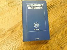 1980's BOSCH AUTOMOTIVE AUTO HANDBOOK FACTORY SHOP SERVICE MANUAL