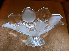 MIKASA FROSTED PEDESTAL BOWL
