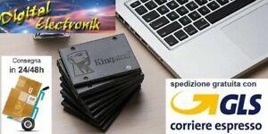 SSD Kingston A400 240 / 480 GB Sata3 SA400S37/480G 480GB HARD DISK STATO SOLIDO