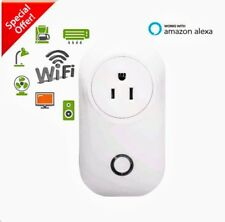 Smart WiFi Outlet Plug US Socket - Amazon Alexa, Echo Dot, Google Assistant