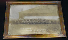 OLD MASONIC PHOTO, LODGE OF PERFECTION, NEW CASTLE, PA, 1916, FRAMED