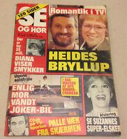 PRINCESS DIANA LADY DI ROYAL DIAMONDS FRONT COVER VINTAGE Danish Magazine 1984