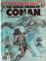 Savage Sword of Conan #78 Marvel Comics Magazine 1982 VF