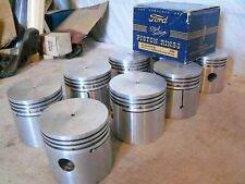 1932 1933 1934 1935 1936 Ford Flathead V-8 .030 Pistons and Rings NORS 40-6108-D
