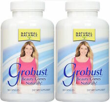 Natural Balance Grobust 180 Capsules (Paks of 2)