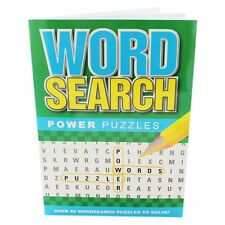 Word Search / wordsearch Power Puzzle Book - green cover