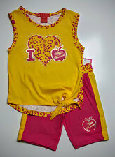 Apple Bottom Girl's Outfit Shirt & Shorts Set Size 12 Months