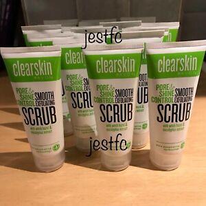 Avon CLEARSKIN Pore & Shine Control SMOOTH EXFOLIATING SCRUB x20 Lots STOCK UP!!