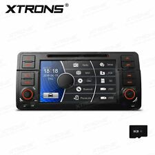Car DVD Player GPS Navigation System 1DIN Radio Stereo for BMW E46 318 320 325