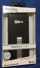 New Case-Mate Tough Stand Case for Samsung Galaxy S8+ PLUS - Black