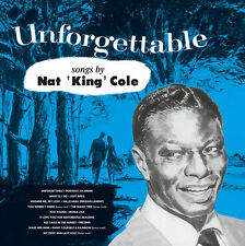 "Nat ""King"" Cole - Unforgettable - NEW 180g import LP Hit filled album w/bonus"