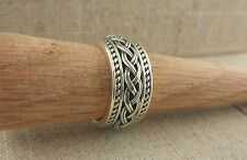 Sterling Silver Celtic Knot Wedding Ring Made in Ireland by SOLVAR