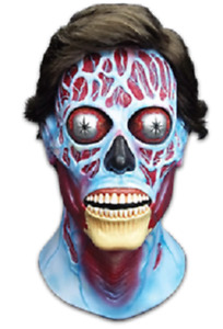 They Live Alien Latex Mask Trick or Treat Universal Studios