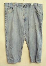 Arizona Stonewashed Jeans Mens Blue Heritage Denim size 48 x 24 CUSTOM SHORT HEM