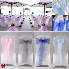 1x ROSA de BEBÉ  pajarita encaje trasero con decoraciones colgantes asiento boda
