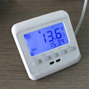 Floureon C08.H3 16A Digital LCD Display Thermostat Programmable Room Floor
