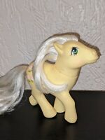 G1 My Little Pony POSEY Vintage MLP 1980's Earth Pony Light Pink Tulips Rare