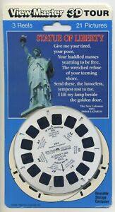 The STATUE of LIBERTY View-Master 3-Reel Packet Sealed Mint