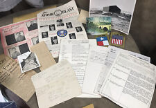 Vintage Military Paperwork ,Letters ,Photos, Newspaper