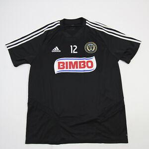 Philadelphia Union adidas Climacool Short Sleeve Shirt Men's Black Used