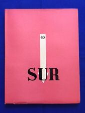 SUR: 60. DECEMBRE 1939 - FIRST EDITION WITH WORK BY JORGE LUIS BORGES