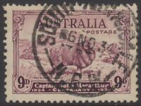 Australia Post - 1934 - Design Set of 4 used - Captain John MacArthur - Merinos