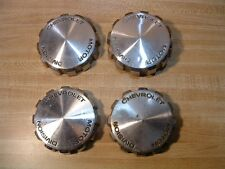 SET 4 WIRE WHEEL COVER HUBCAP CENTERS ~ 1971 1972 1973 1974 1975 1976 CHEVY