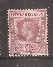 Cats Used Leeward Islands Stamps