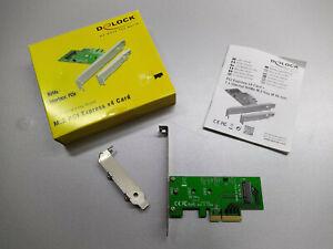 Delock PCI Express Karte > 1 x intern M.2 NGFF SSD Anschluss Erweiterung
