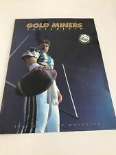 Sacramento Gold Miners Cfl 1993 Inaugural Team Magazine David Archer More