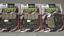 kit pastiglie anteriori + posteriori Kawasaki Z1000 Z 1000 2010 2011 2012 2013