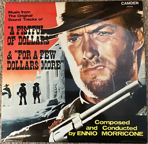 ENNIO MORRICONE - A FISTFUL OF DOLLARS & FOR A FEW DOLLARS MORE SOUNDTRACK LP